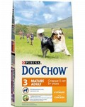 Dog Chow Mature Adult 5+ Сhicken and Rice 2,5кг