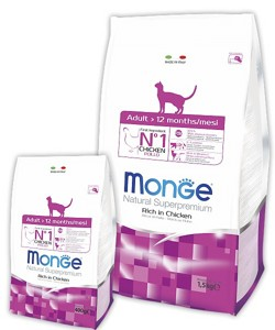 Monge Superpremium Cat Adult 400гр
