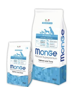Monge Speciality Line All Breeds Adult Hypoallergenic Salmone & Tuna 2,5кг